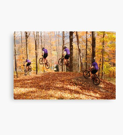My Son the Stuntman 1 Canvas Print