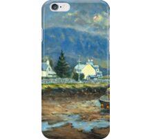 Plockton, Scotland at LowTide iPhone Case/Skin
