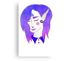 Galaxy Elf Canvas Print