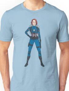 Captain Widow Unisex T-Shirt
