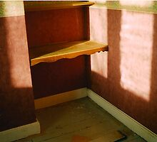 Corner Shelf (Abandoned Nursing Home) by Matt Roberts