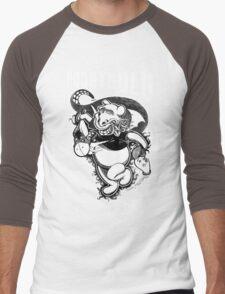 Poohthulu: Winnie the Pooh Meets Cthulu Men's Baseball ¾ T-Shirt