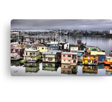 Fisherman's Wharf, Victoria Canvas Print