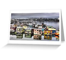Fisherman's Wharf, Victoria Greeting Card