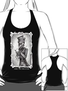 Dead kitty (black and white) T-Shirt