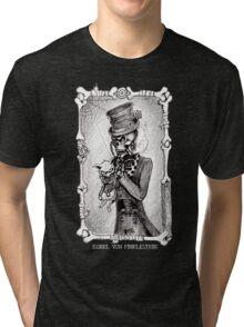 Dead kitty (black and white) Tri-blend T-Shirt