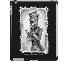 Dead kitty (black and white) iPad Case/Skin