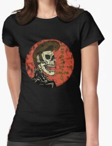 Psychobilly Rules Womens Fitted T-Shirt