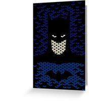 Bat Wayne  Greeting Card