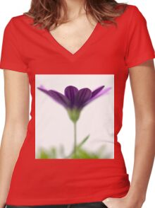 Purple evanescence Women's Fitted V-Neck T-Shirt