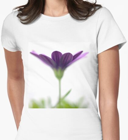 Purple evanescence Womens Fitted T-Shirt