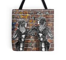 Graffiti Hearts [Digital Figure Illustration] Tote Bag