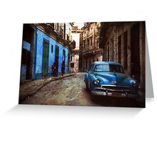 La Habana Greeting Card
