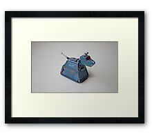 doctor who's k9 Framed Print