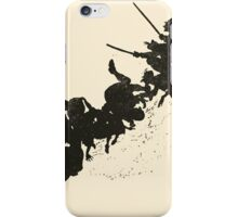 Snowdrop & Other Tales by Jacob Grimm art Arthur Rackham 1920 0141 Simpleton and Goose iPhone Case/Skin