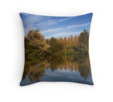 Summer Water Scape Throw Pillow