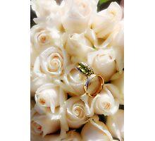 K&W Wedding Flowers Photographic Print