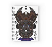 Elephant Monster Spiral Notebook