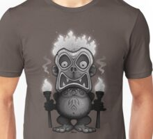 Tiki Munkee Black and White Unisex T-Shirt