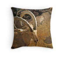 Ibex Throw Pillow