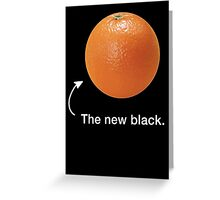 Orange Greeting Card