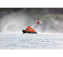 Tobermory Lifeboat Demonstration Photographic Print