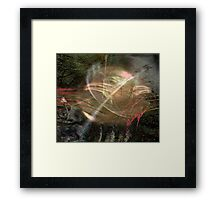 Don't Give Up Framed Print