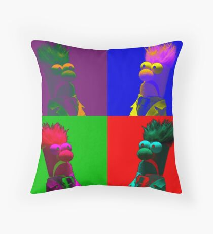 Beaker Pop Throw Pillow