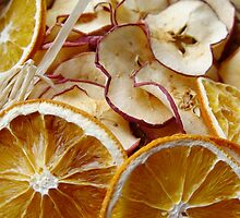 Dried oranges and apples by smrcek