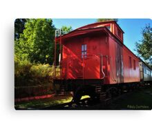 Old Train 2 Canvas Print