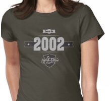 Born in 2002 (Light&Darkgrey) Womens Fitted T-Shirt