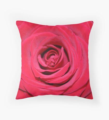 Silken Beauty Throw Pillow