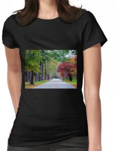 The Look Of Fall Womens Fitted T-Shirt