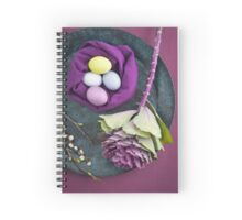 Easter floral still life Spiral Notebook
