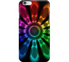 Flower Color Wheel iPhone Case/Skin