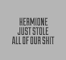 HERMIONE JUST STOLE ALL OF OUR SHIT - THIS IS THE END by Articles & Anecdotes
