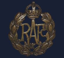 RAF Cap Badge by Larry Oates