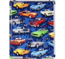 Auto Sports Muscle Cars Pattern iPad Case/Skin
