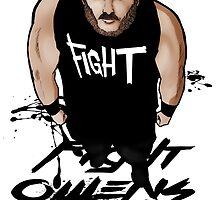 Fight Owens Fight fanart by GUNHOUND