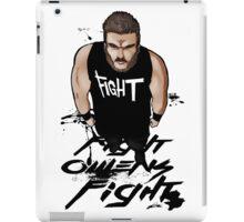 Fight Owens Fight fanart iPad Case/Skin