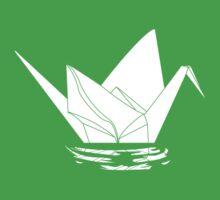 Paper Crane One Piece - Short Sleeve