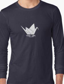 Paper Crane Long Sleeve T-Shirt