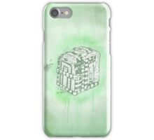 Boxed Mime (Green) iPhone Case/Skin
