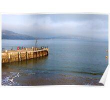 Misty Afternoon ~ Lyme Regis Poster
