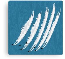 Jet fuel Canvas Print