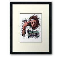 Meechy Darko Flatbush Zombies Framed Print