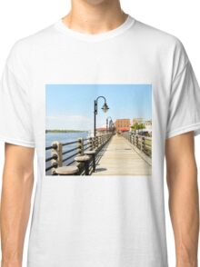 Riverfront In Wilmington Classic T-Shirt