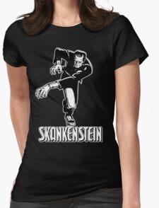 Skankenstein Monster Womens Fitted T-Shirt