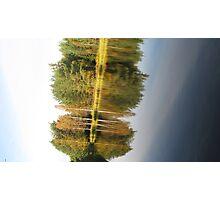 Autumnal Mirror Image Photographic Print