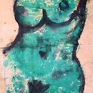 green nude -Bernard Lacoque by ArtLacoque